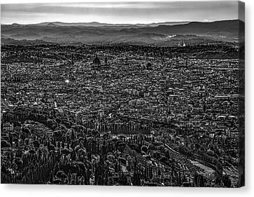 Florence From Fiesole Canvas Print