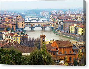 Florence Canvas Print - Florence Italy by Photography By Spintheday