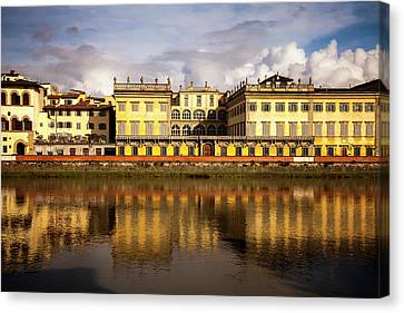 Florence Reflections Canvas Print by Andrew Soundarajan