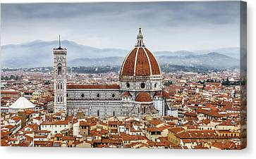 Florence Skyline Canvas Print by Colin Price  AWPF
