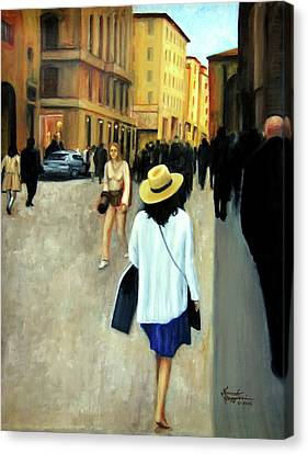 Florence Trip Canvas Print