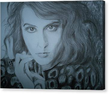Florence Welch, Florence And The Machine Canvas Print by Adrienne Martino