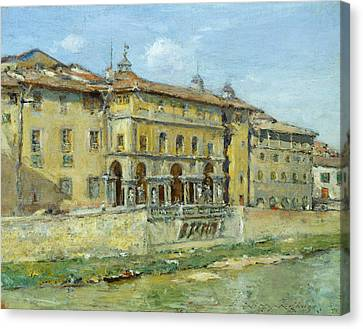 Florence Canvas Print by William Merritt Chase