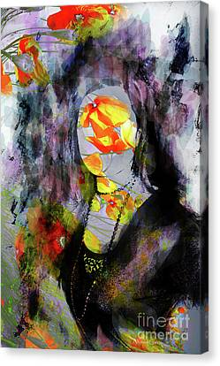 Canvas Print featuring the photograph Flores by Alfonso Garcia