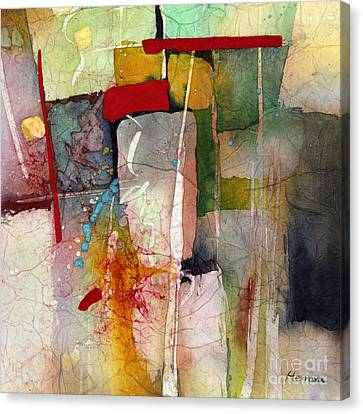 Florid Canvas Print - Florid Dream - Green by Hailey E Herrera