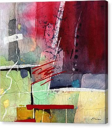Florid Canvas Print - Florid Dream - Red by Hailey E Herrera