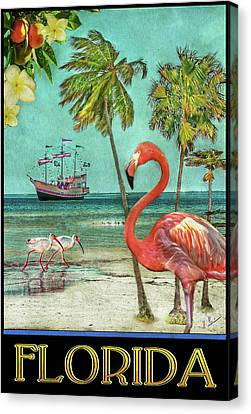 Canvas Print featuring the photograph Florida Advertisement by Hanny Heim