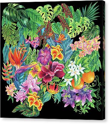 Florida Garden Canvas Print