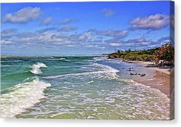 Florida Gulf Coast Beaches Canvas Print