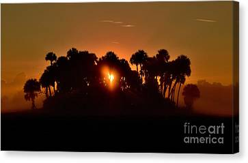 Florida Heart Canvas Print