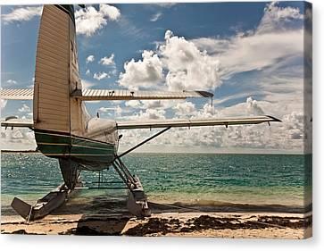 Florida Keys Seaplane Canvas Print by Patrick  Flynn