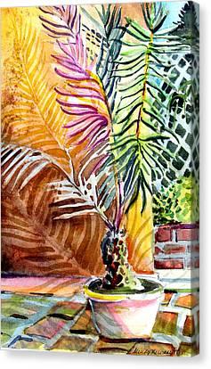 Arizonia Canvas Print - Florida Palm Tree by Mindy Newman