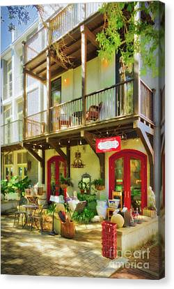 Canvas Print featuring the photograph Florida Panhandle Portraits by Mel Steinhauer
