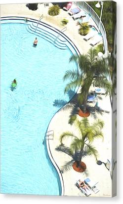 Florida Pool 33 Canvas Print