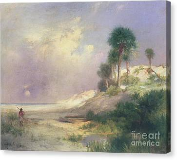 Florida Canvas Print by Thomas Moran