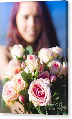 Florist Canvas Print by Jorgo Photography - Wall Art Gallery
