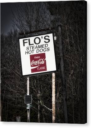 Flo's Hot Dogs - Cape Neddick - Maine Canvas Print