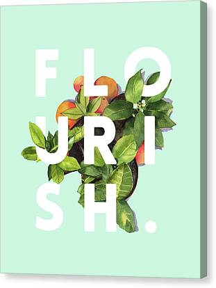 Flourish Canvas Print by Uma Gokhale