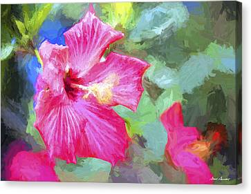 Flower 1 Canvas Print