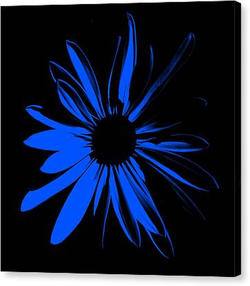 Canvas Print featuring the digital art Flower 4 by Maggy Marsh