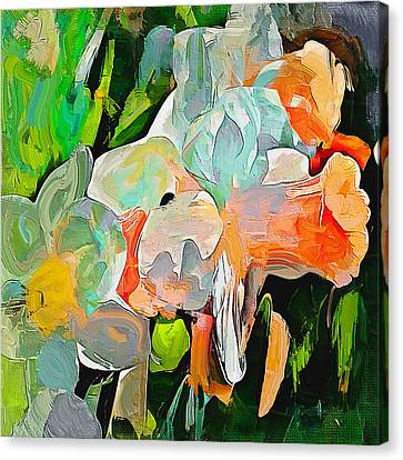 Flower Abstract Canvas Print by Yury Malkov