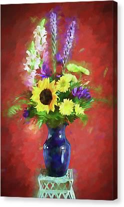 Canvas Print - Flower Arrangement by James Barber