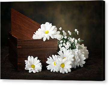 Breath Canvas Print - Flower Box by Tom Mc Nemar