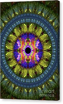Sacred Canvas Print - Flower Carpet by Raphael Terra