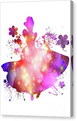 Flower  Cinderella  Canvas Print by Prar Kulasekara