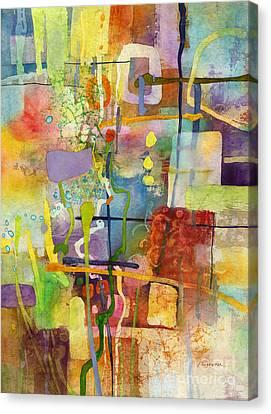 Flower Dance Canvas Print by Hailey E Herrera