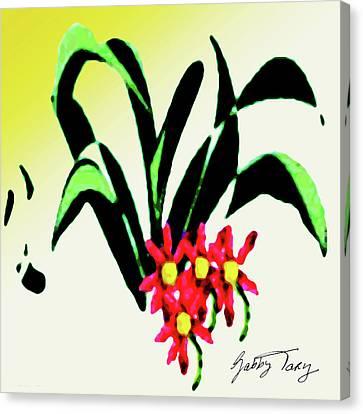 Flower Design #2 Canvas Print