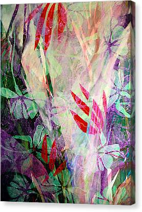 Flower Eruption Canvas Print by Sue Reed