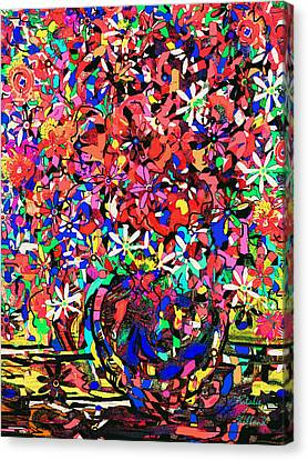 Flower Expression Canvas Print by Natalie Holland