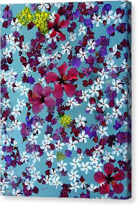 Flower Fantasy Guatemala Canvas Print by Kurt Van Wagner