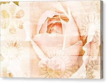Flower Garden Canvas Print by Frank Tschakert