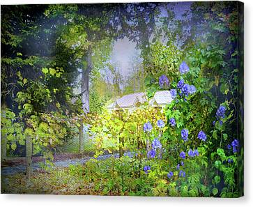 Flower Girl Canvas Print by Diana Angstadt