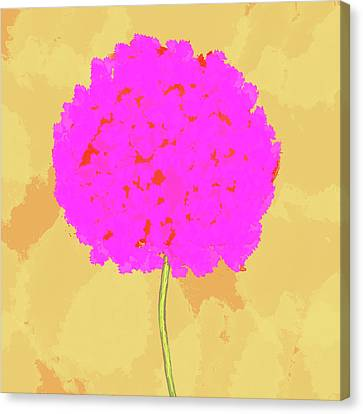 Flower In Pink Canvas Print by Skip Nall