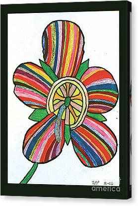 Flower Canvas Print by Jeffrey Peterson