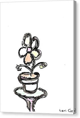 Flower  Canvas Print by Levi Glassrock