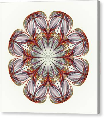 Flower Mandala Canvas Print by Anastasiya Malakhova
