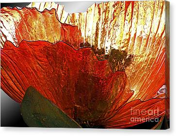 Flower Of Glass Canvas Print