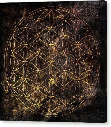 Flower Of Life 2 Canvas Print by Edouard Coleman