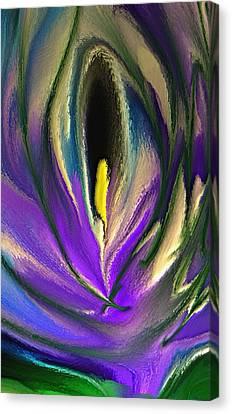 Flower Of Love Canvas Print by Norma Jean Lipert