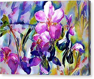 Flower Of Paradise 2 Canvas Print by Yury Malkov