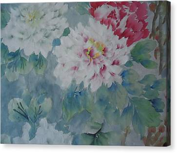 Flower  Oo3 Canvas Print by Dongling Sun