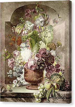 Flower Painting Canvas Print