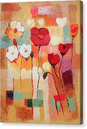 Flower Parade Canvas Print by Lutz Baar