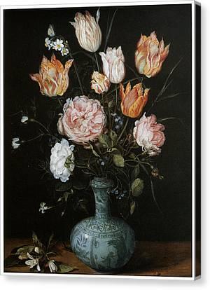 Flower Piece Canvas Print by Jan Brueghel The Elder