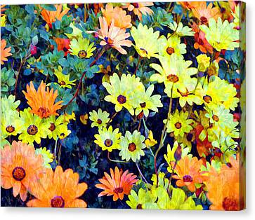 Canvas Print featuring the photograph Flower Power by Glenn McCarthy Art and Photography