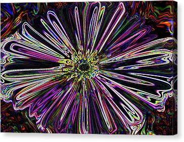 Flower Powered  Canvas Print